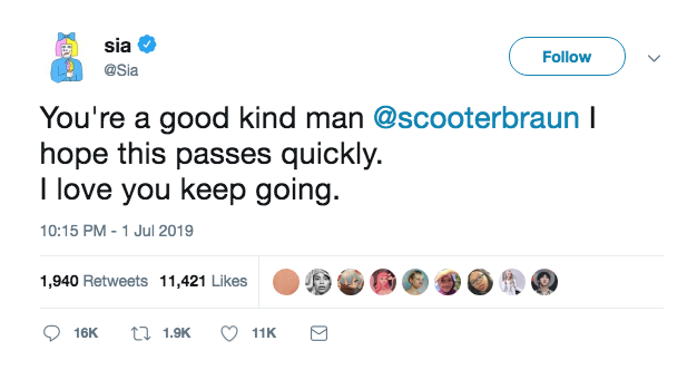 Taylor Swift and Scooter Braun Feud: Celebrities Take Sides