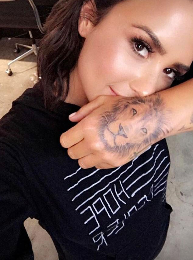 Demi Lovato Tattoos Guide To Ink Designs And Their Meanings