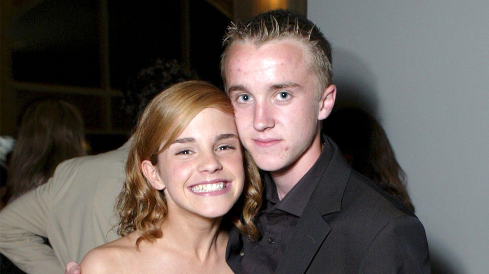 Harry Potter Cast Reunion Emma Watson And Tom Felton Hang Out