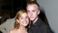 Emma Watson Tom Felton Reunion Harry Potter