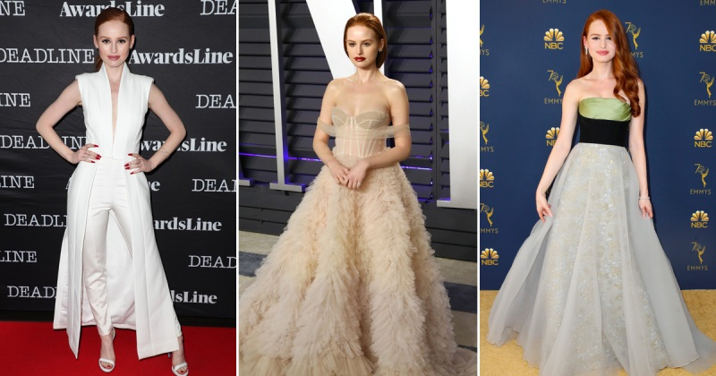 madelaine petsch red carpet looks
