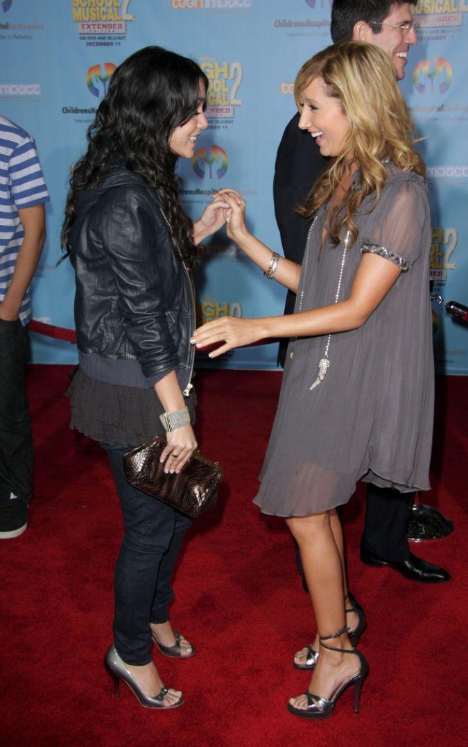 Ashley Tisdale Vanessa Hudgens Met Before HSM