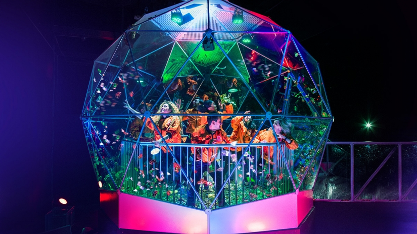 Crystal Maze Dome nickelodeon