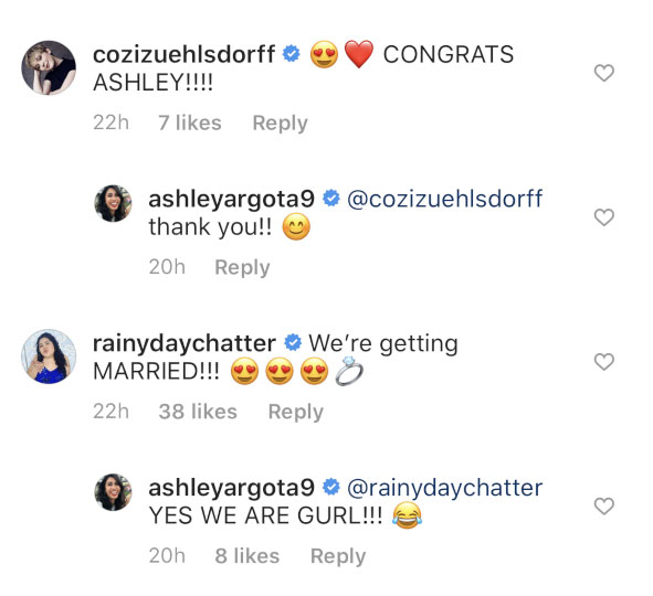 Ashley Argota Engaged to Boyfriend Mick Torres Comments