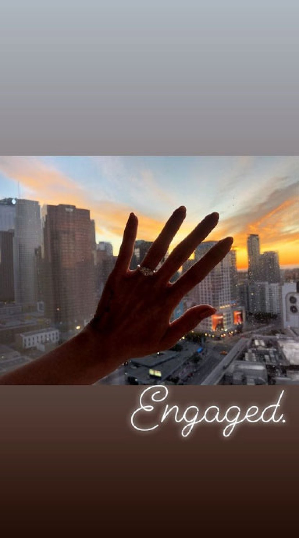 Ashley Argota Engaged to Boyfriend Mick Torres Ring