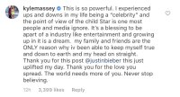 Justin Bieber Celebrities Support