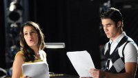 Lea Michele Reunites with Glee Cast for Christmas Album