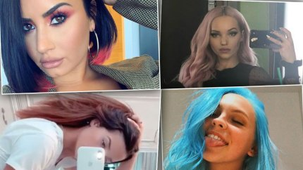 Celebrity Hair Transformations