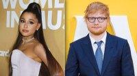 Ed Sheeran Ariana Grande Record Secret Song Together