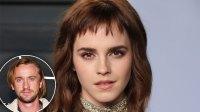 Emma Watson Kisses Mystery Man Not Dating Tom Felton