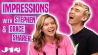 Grace and Stephen Sharer Impressions