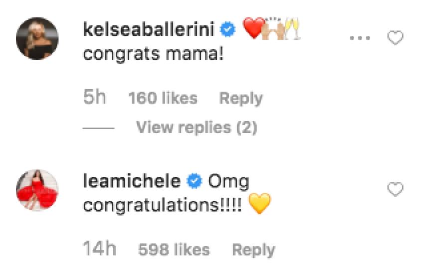 Maren Morris Pregnant Celebrity Reactions