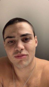 Noah Centineo Shaves Head