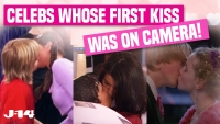 Celebrities First Kiss On Camera