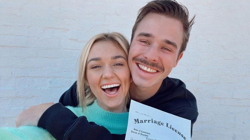 Sadie Robertson and Christian Huff Tie The Knot