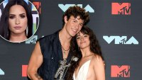Shawn Mendes and Camila Cabello Made Demi Lovato Feel Old With A Gift