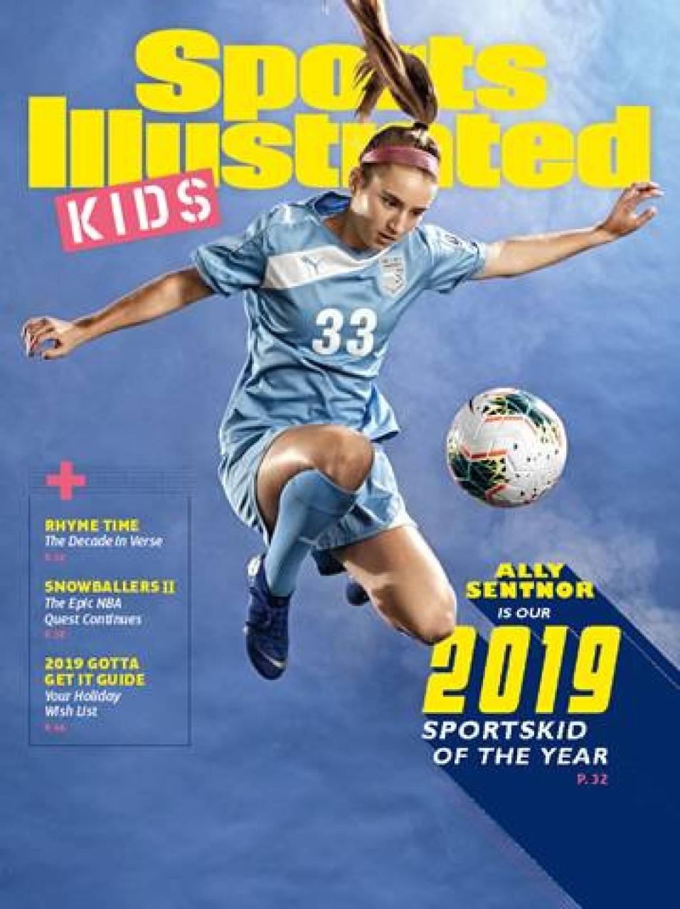 Ally Sentnor SI SportsKid Of The Year