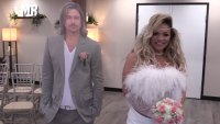 Trisha Paytas Marries Brad Pitt Cutout