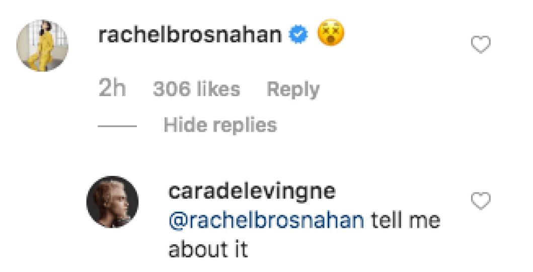 Cara Praises Ashley's Body