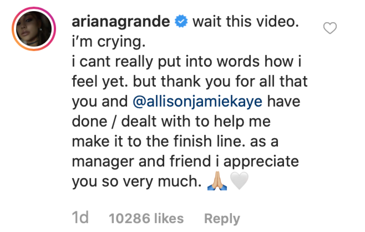 Ariana Grande Opens Up About Her 'Ups And Downs' During The 'Sweetener' Tour