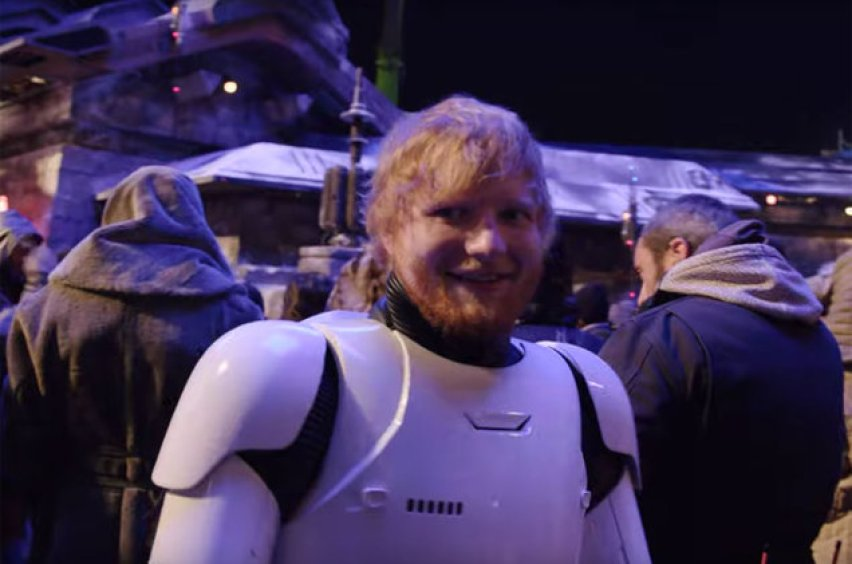 Ed Sheeran Stormtrooper Star Wars