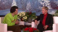 Harry Styles Clam Up When Ellen DeGeneres Asks About His Friendship With Ex Kendall Jenner