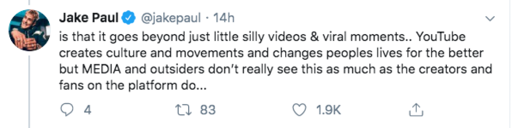 Jake Paul Slams YouTube Rewind