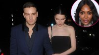 Liam Payne Dodges Awkward Run In With Naomi Campbell