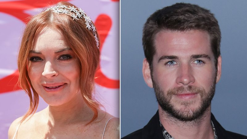 Lindsay Lohan Leaves Some Pretty Thirsty Comments On Liam Hemsworth's Instagram Page