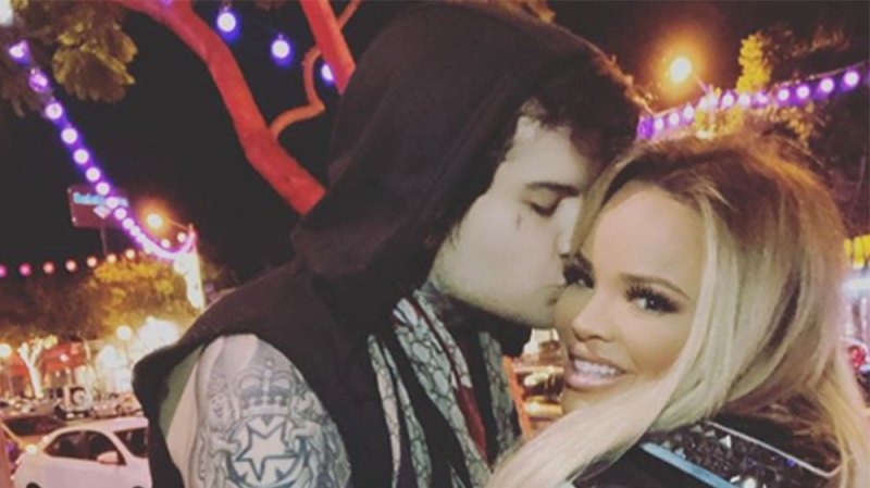 Trisha Paytas Makes Out with Jaclyn Hill's Husband on Instagram