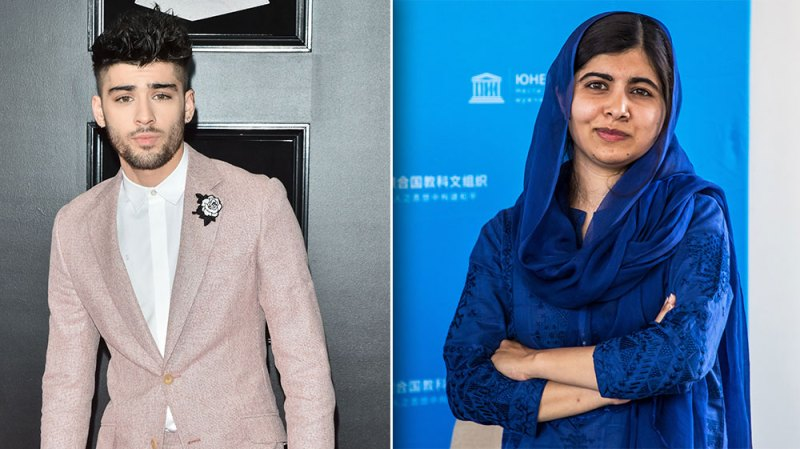 Zayn Malik Collaborates With The Malala Fund For Giving Tuesday
