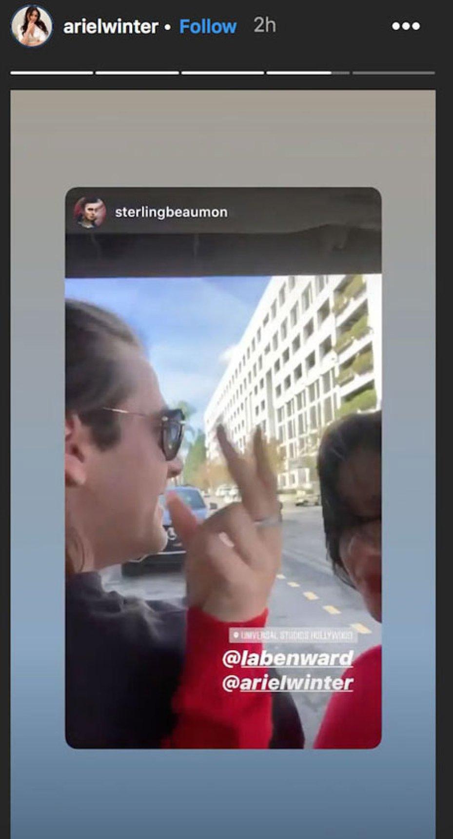 Ariel Winter And Luke Benward Make Their Relationship Instagram Official