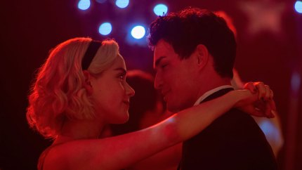 Chilling Adventures of Sabrina Kiernan Shipka Gavin Leatherwood Dating Relationship Explained