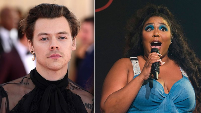 Harry Styles Joins Lizzo On Stage For Epic 'Juice' Performance