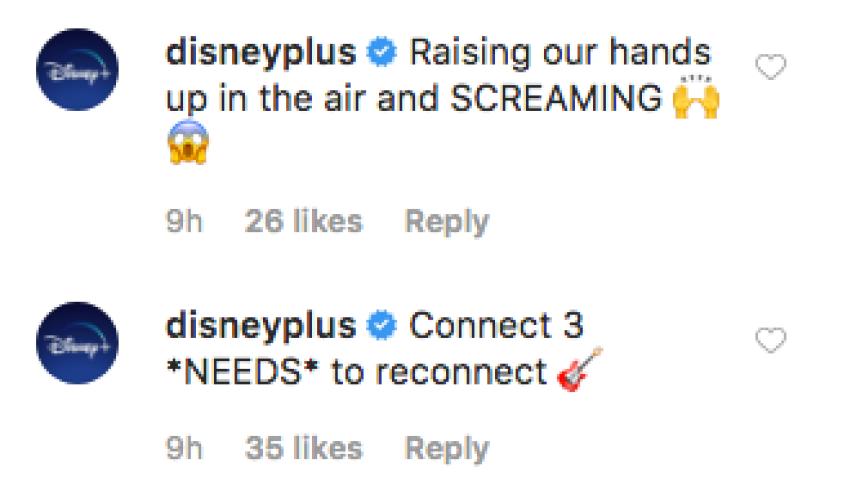Jonas Brothers Recreate Camp Rock Scene Disney Plus Comment