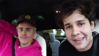 David Dobrik Recalls The Moment Justin Bieber Tickled Him In A Club