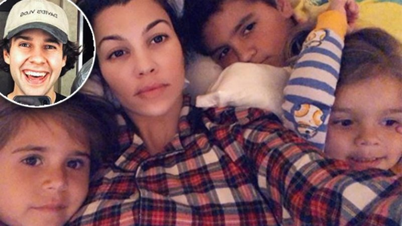David Dobrik Teams Up With Kourtney Kardashian's Son Mason For Hilarious New Video