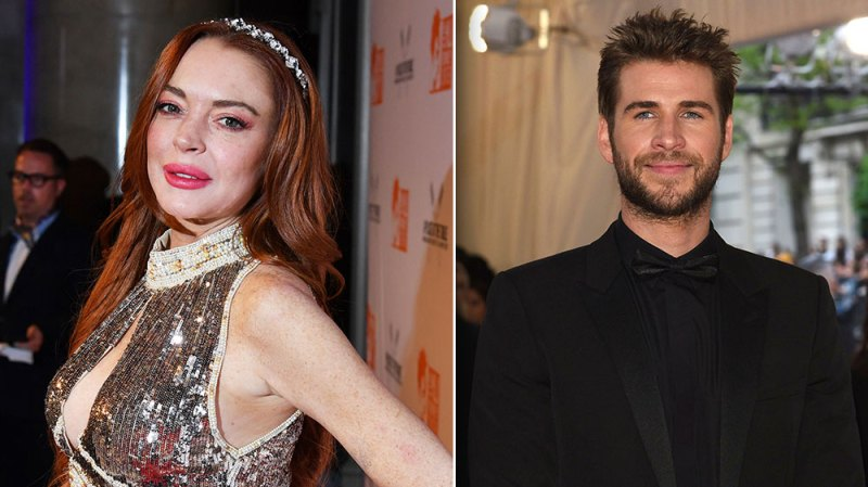 Lindsay Lohan Says Her Flirty Liam Hemsworth Comments Were Taken 'The Wrong Way'