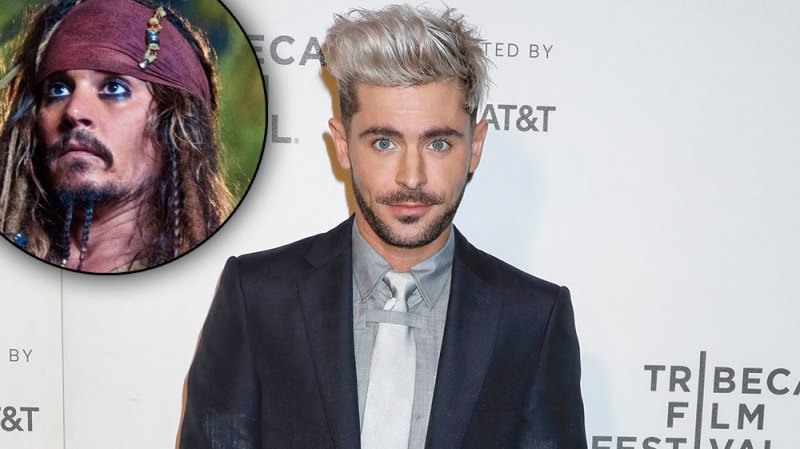 There's Rumors That Zac Efron Is Going To Play Jack Sparrow In 'Pirates Of The Caribbean' Prequel