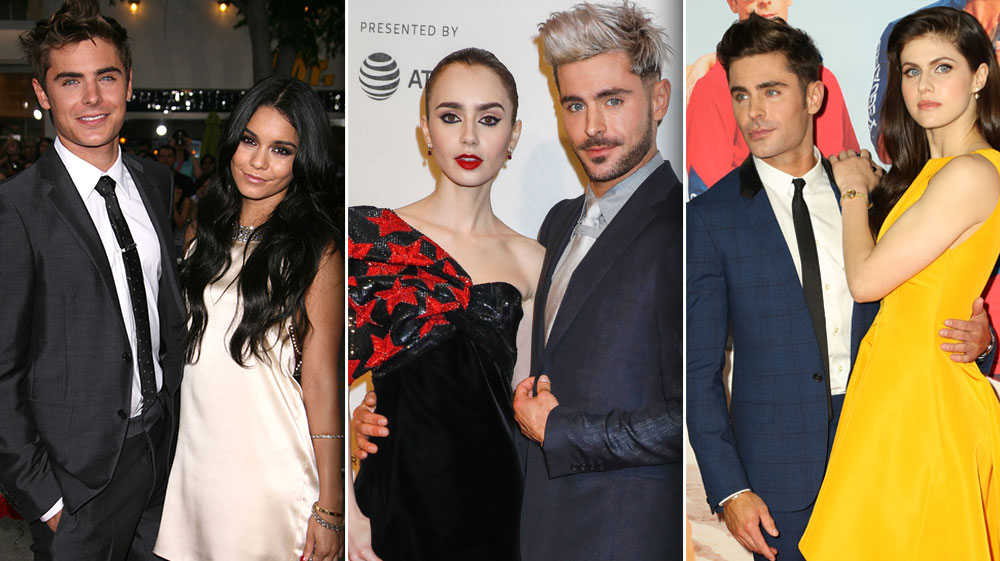 Who is zac efron really dating