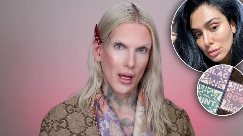 Jeffree Star Accuses Huda Beauty Of Copying Colourpop's Pastel Palettes