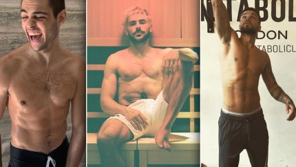 Celebrity Guys Who Totally Stripped Down On Instagram