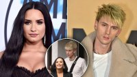 Demi Lovato & Machine Gun Kelly Spark Dating Rumors After Leaving A Club Together