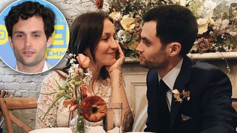 Gossip Girl Penn Badgely Wife Pregnant Expecting First Child