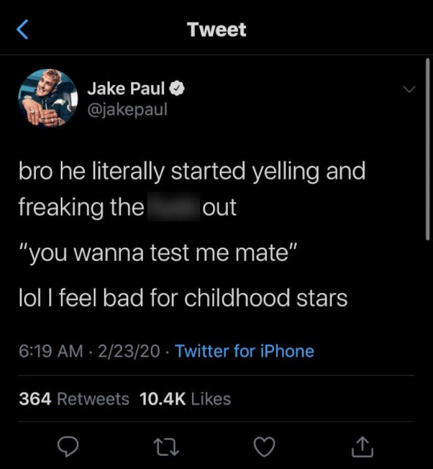 Jake Paul Gigi Hadid Fight Zayn Malik
