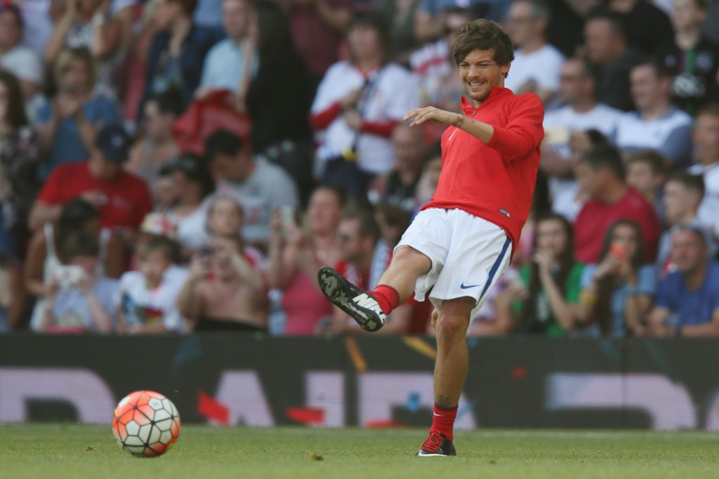 Louis Tomlinson Soccer Aid