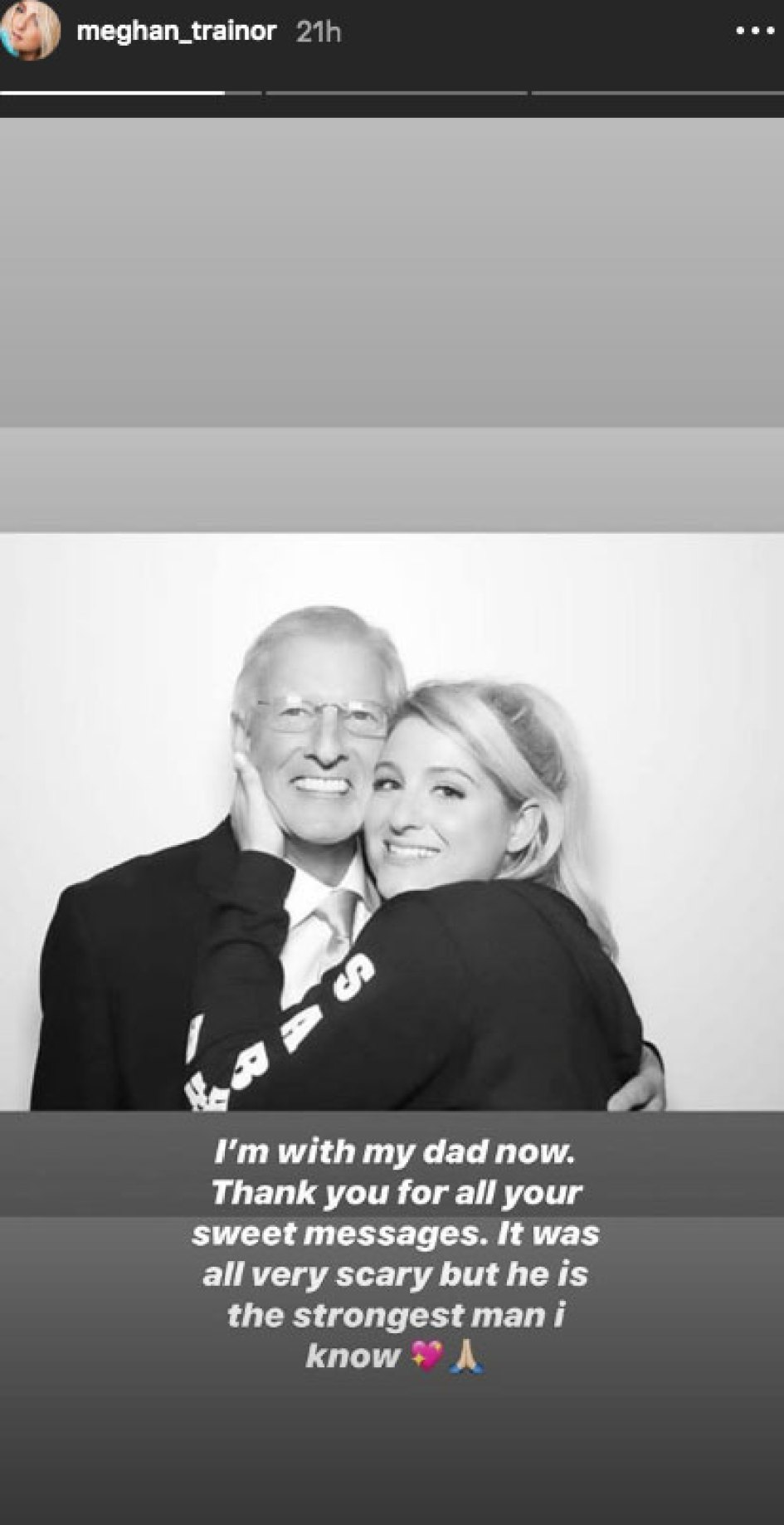 Meghan Trainor Gives Important Update After Her Dad Gary Is Hit By A Car