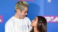 Pete Davidson Accuses His Ex Ariana Grande Of Spray-Painting Herself 'Brown'