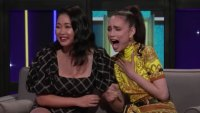 Sofia Carson Makes Lana Condor's Dreams Come True By Teaching Her The Famous Disney Wand Video