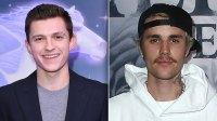Tom Holland Sends Major Support to Justin Bieber